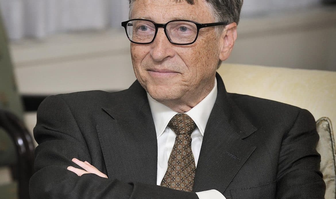 Bill Gates face smile