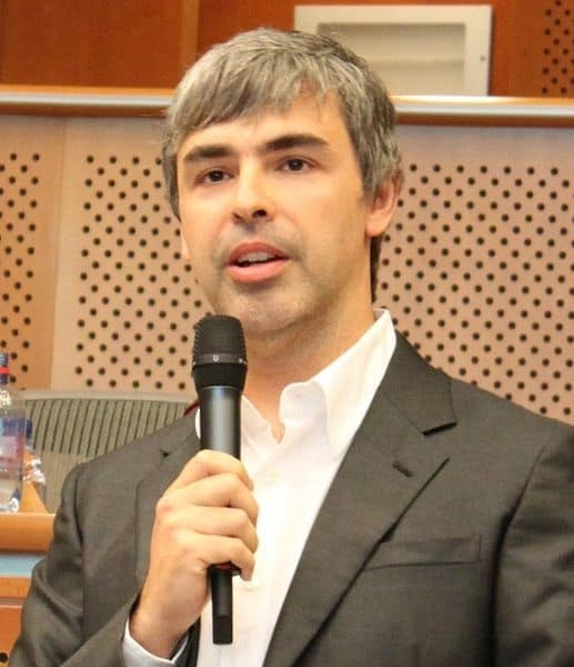 Larry Page is saying something