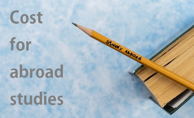 cost of abroad studies