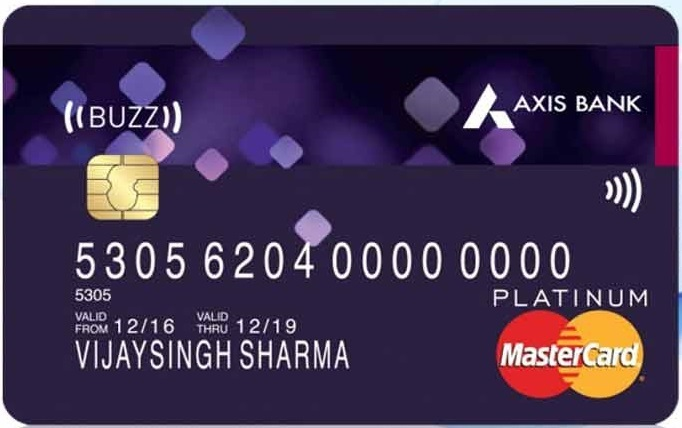 best credit card in India 2020 - Axis Buzz Credit Card