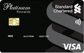 best credit card in India 2020 - Standard Chartered Platinum Reward Credit Card