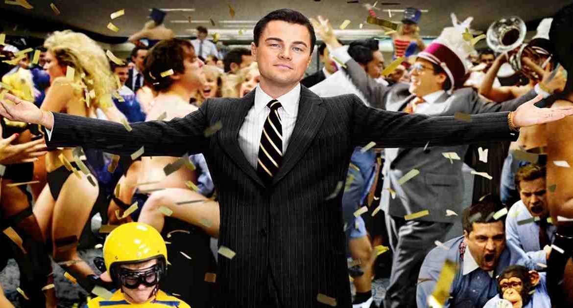 wolf of wall street movie picture - get rich