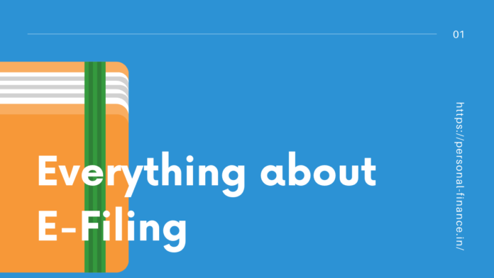 Everything about e filing