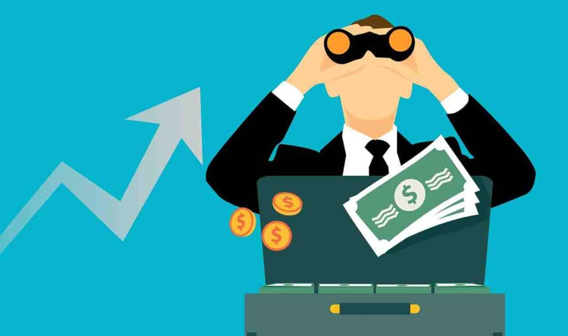 illustrations investment money opportunity - investment strategy